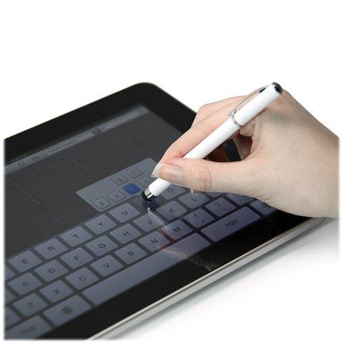 BoxWave Capacitive BLU Tattoo Mini Styra - Slim Sleek Ultra Fine Precision Tip Pen (Metallic Silver)