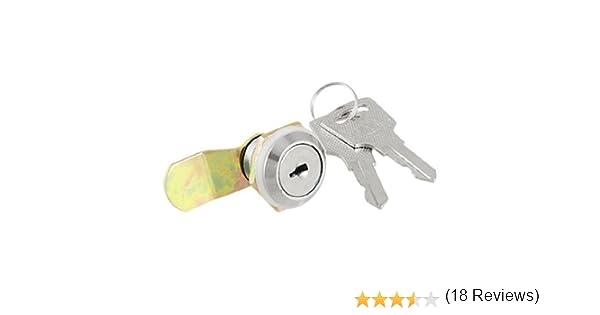 Caja por la puerta del gabinete de metal de punto único de seguridad cerradura de la leva: Amazon.es: Bricolaje y herramientas