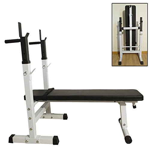 Adjustable Weight Lifting Flat Incline Exercise Bench Fitness Body Workout