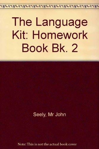 The Language Kit 2: Homework Book (Pack of 8) (The Language Kit: Writing Through Grammar) (Bk. 2) ()