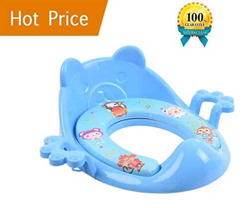 Claw Sink Chest - Potty Training Seat For Boys - The Soft Toilet Seat For Potty Training Ideal for Toddler Potty Training, Featuring the Best Baby Toilet Seat Design (Blue)
