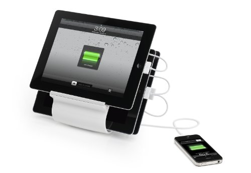 Kanex Sydnee 4-port 2.1A USB Charging Station for iPad, Kindle, Tablets, Smartphones - Snow by Kanex (Image #1)
