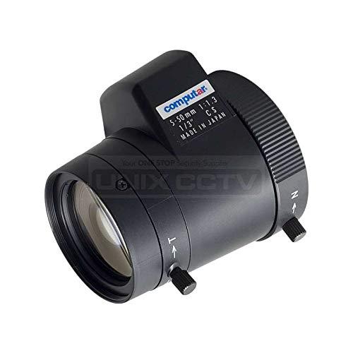 Computar | LA TG10Z0513FCS-2 | CCTV Lens for Brick Cameras 5~50mm Auto Iris Vari-Focal Lens