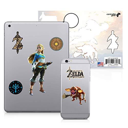 Controller Gear The Legend of Zelda: Breath of the Wild - Character Tech Decal Pack - Princess Zelda - Nintendo Wii; - For Skin Gamecube Zelda