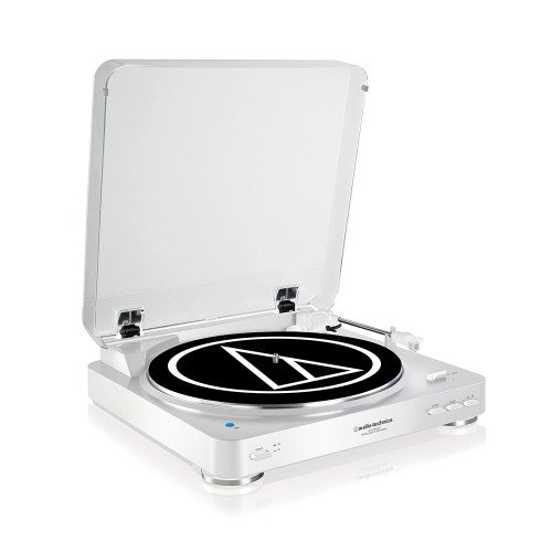 Audio-Technica AT-LP60WHBTU Fully Automatic Wireless Belt-Drive Stereo...