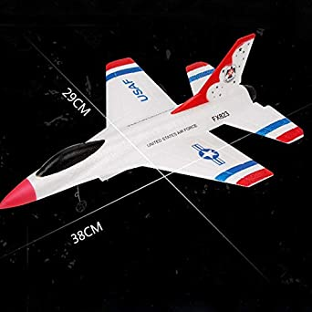 feeilty RC Remote Control Helicopter Indoor Plane Glider Airplane Toys 2.4GHz for Children Kids Christmas Gift