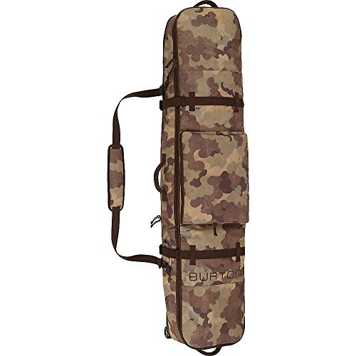 Burton Wheelie Board Case Snowboard Bag, Storm Camo Print, - Board Case Snowboard Bag
