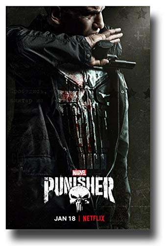 Punisher Poster TV Show Promo 11 x 17 inches Season 2 Mouth Gun Marvel