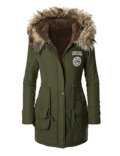 hooded long coats for women - 9