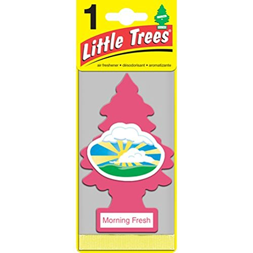 Fresh Air Freshener (Little Trees Air Freshener 6-Pak, Morning Fresh (U6P60228))