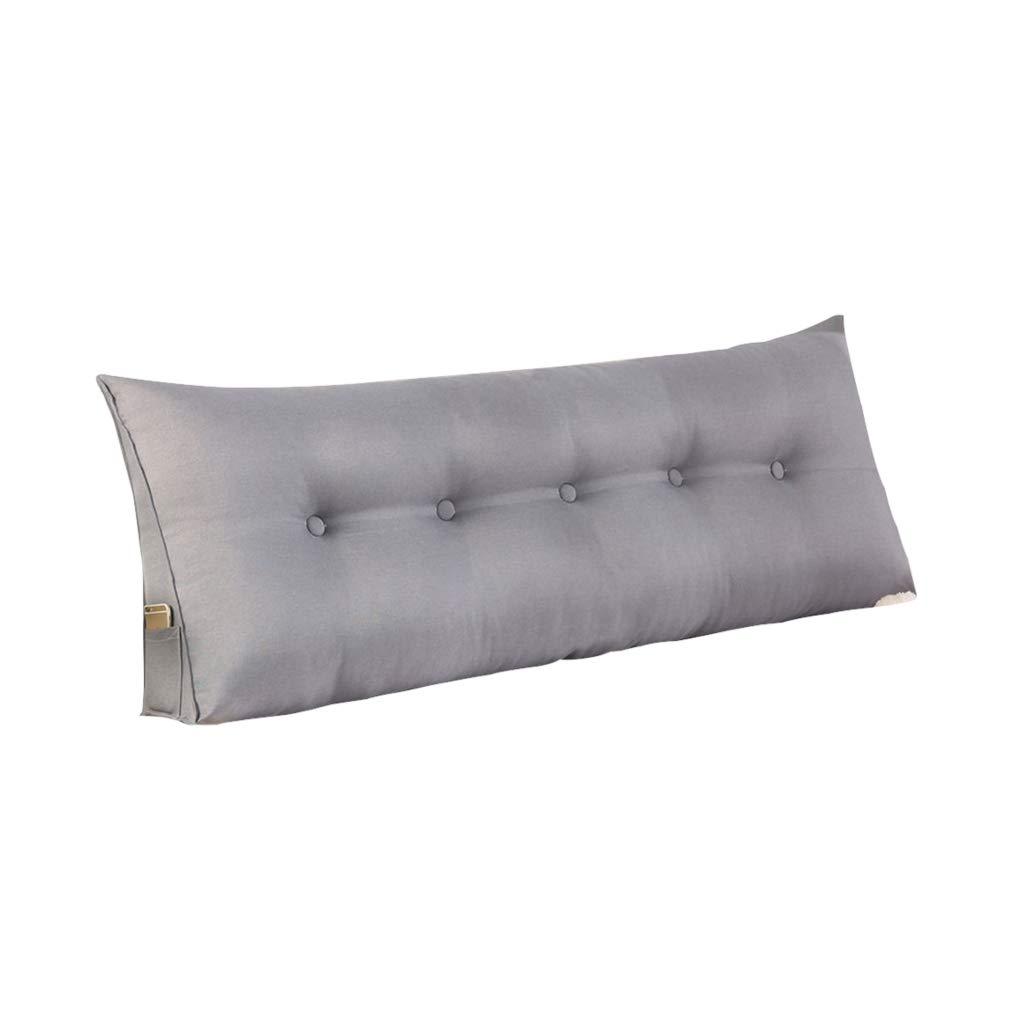DUHUI Lesekissen   Das perfekte Sofakissen   Keilkissen für Bett und Couch   Rückenstütze   Lendenkissen, abnehmbar (Farbe   braun2, größe   120x50x20CM) B07MRBSHS1 Kissen Elegante und robuste Verpackung