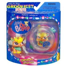 Littlest Pet Shop Series 2 Limited Edition Extreme Grooviest Owl - Littlest Angel Doll