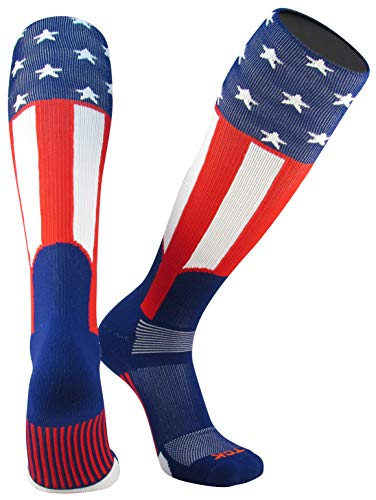 - Twin City Uncle Sam USA Knit-in Stirrup Sock