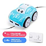 DEERC RC Smart Cartoon Toy Cars for Toddlers Boys Girls with Auto...