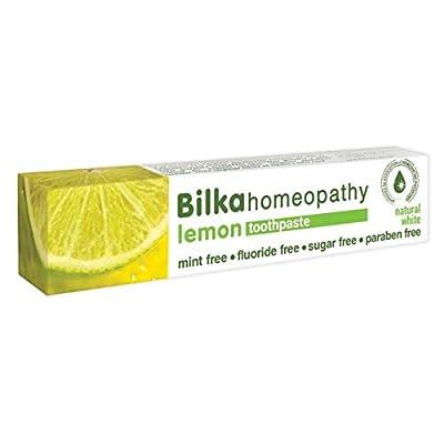 Bilka Natural Toothpaste Homeopathy Lemon 2,5oz