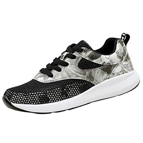 KERULA Sneaker Damen Atmungsaktiv Mesh Leichtgewichts rutschfeste Sportschuhe Wanderschuhe Laufschuhe Turnschuhe Hallenschuhe Joggingschuhe Freizeitschuhe Walkingschuhe Fitness Schuhe