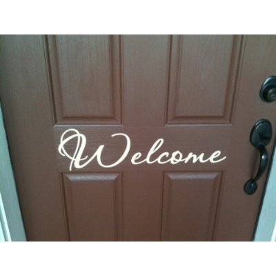 Front door Welcome (Welcome Sign For Door compare prices)