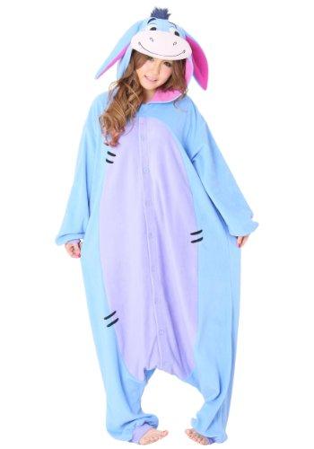Eeyore Kigurumi - Adults Costume