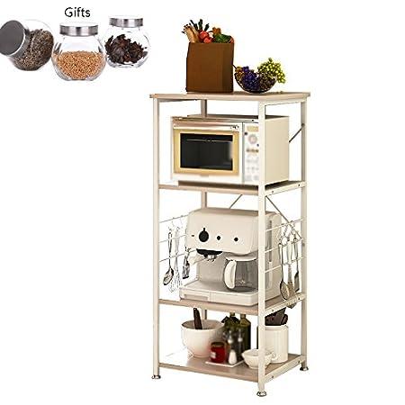 Muebles de cocina Armario abierto Estante de microondas ...