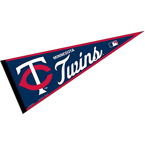 WinCraft Minnesota Twins MLB Large Pennant - Minnesota Twins Decorations