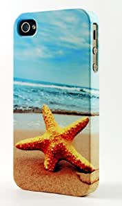 Lost Star Fish Waiting For High Tide Dimensional Case Fits iPhone 6
