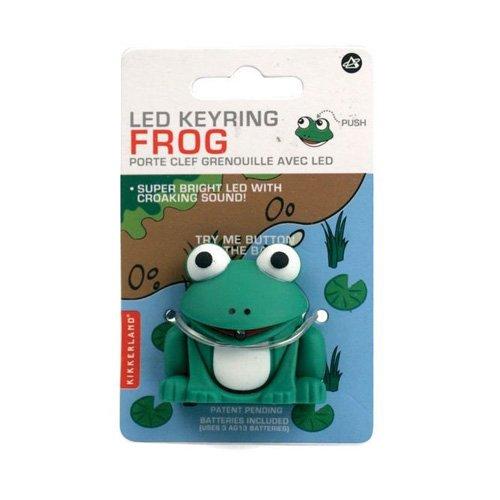 Frog Key Ring LED Flashlight product image