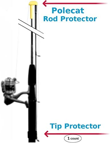Polecat Fishing Rod Protector 4-Pack