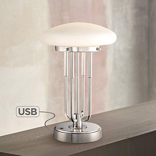 Broadway Modern Art Deco Desk Lamp 17 1/2