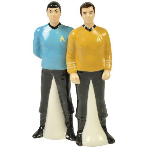 Star Trek Spock and Kirk Salt & Pepper Shakers