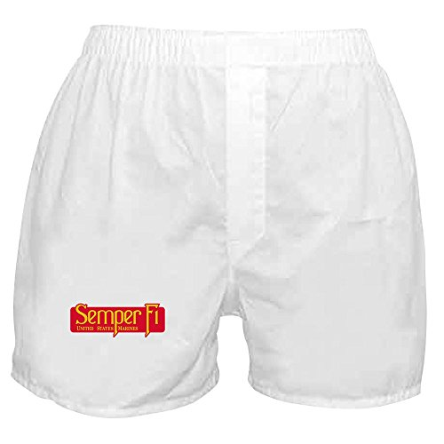 Marine Shorts Boxer (Royal Lion Boxer Short (Shorts) Marine Corps Semper Fi Fidelis - Medium)