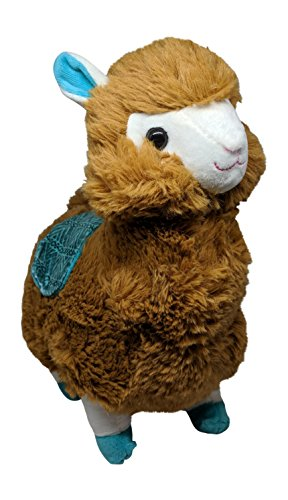 Price comparison product image Cute Brown Plush Llama Alpaca Stuffed Animal - 12 Inches