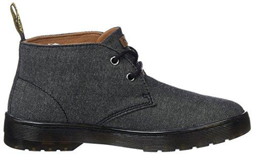 Black Twill Desert Martens Black Nero Chambray Mayport Stivali Dr Uomo Boots wxIqZvWY