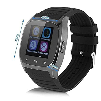 Amazon.com: LPENGBXB Latest multilinggual Bluetooth Smart Watch reloj inteligente Fashion for Phone xiaomi Huawei. (Color : Blue): Electronics