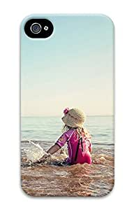 iPhone 4 4S Case Baby Girls Cute 3D Custom iPhone 4 4S Case Cover