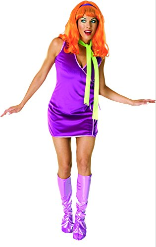 Rubie's Costume Scooby Doo Deluxe Daphne Costume, Purple, One Size, Purple, Standard Size ()