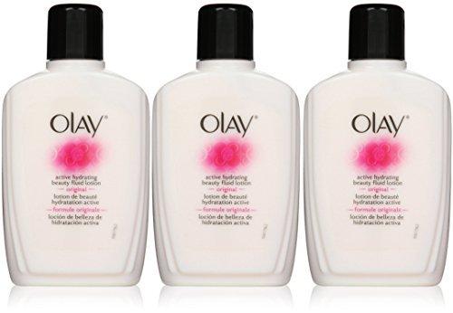 - Olay Active Hydrating Beauty Fluid, Original, 6 Ounce, 3 Pack