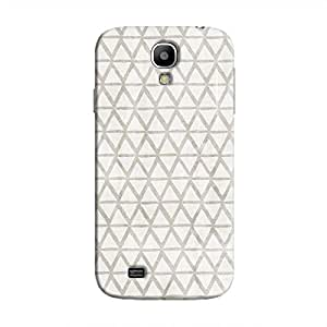 Cover It Up - Triangle Print Grey Galaxy S4 Hard Case