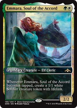 kaartspellen Emmara Soul of the Accord ~ Guilds of Ravnica ~ MINT/NearMint ~ Magic MTG