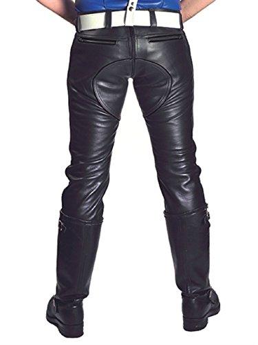 Leder-Jeans FXXXer Jeans Black Grössen 28