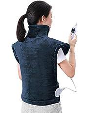 Heizkissen Heizdecke Elektrisch mit Abschaltautomatik für Rücken Schulter Nacken