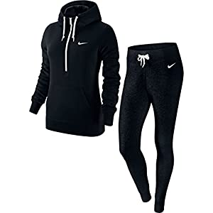 Nike Club Warm-Up Tracksuit Women, Women, Black - Black