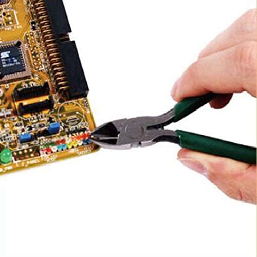 SSY-YU ホームの修復、すなわち屋外産業メンテナンスプライヤーに適しペンチ、グリーン多機能斜め口のプライヤー設定してみましょう、私たちはより強力なこと(色:ピンク、サイズ:12.5 * 5.5) ペンチ 切断工具