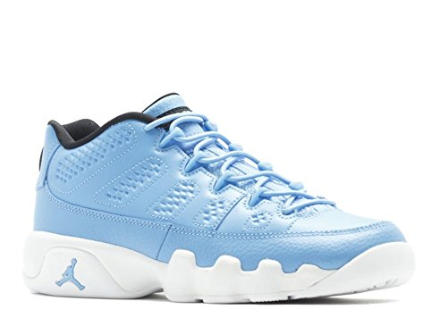 AIR Jordan 9 Retro Low BG (GS) - 833447-401 - Size (Jordan Leather Sneakers)
