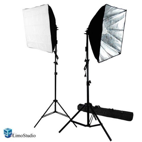 Lighting (LimoStudio 700W Photography Softbox Light Lighting Kit Photo Equipment Soft Studio Light Softbox 24
