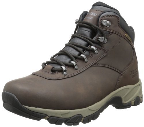 Hi-Tec Mens Altitude V I WP Hiking BootDark ChocolateDark TaupeBlack12 M US