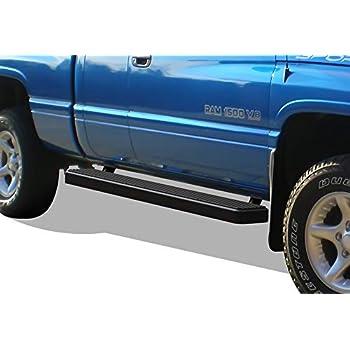 "5/"" Black Running Boards For 94-01 Dodge Ram 1500 Club Cab /& 94-02 Ram 2500//3500"