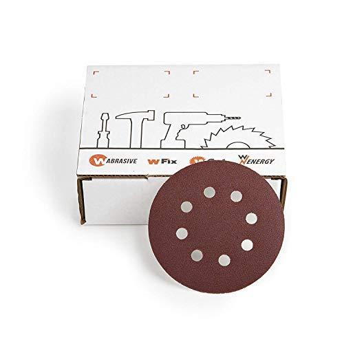 Touch Fastener Grinding Discs 225 mm Ø 10 Pieces Grain 150 K150 of wabrasive for Matrix Flex Drywall Sander Ceiling Sanders wzw