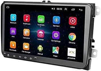 Radio 2 DIN Android, Auto Head Unit 1 + 16G Pantalla táctil de 9