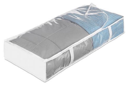 Whitmor Zippered Underbed Bag, Jumbo