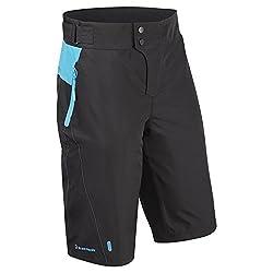 Tenn Mens Protean MTB/Downhill Cycling Shorts - Black/Cyan - Sml